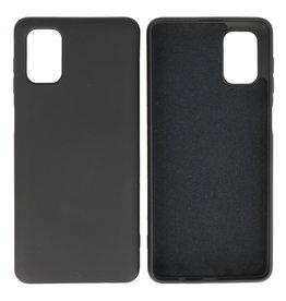 Samsung Galaxy M51 Hoesje Fashion Backcover Telefoonhoesje Zwart