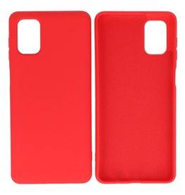 Samsung Galaxy M31 Hoesje Fashion Backcover Telefoonhoesje Rood