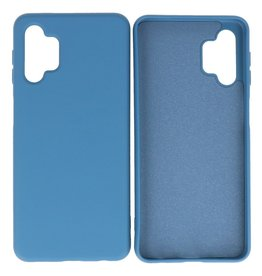 Fashion Color Backcover Hoesje Samsung Galaxy A32 5G Navy