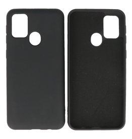 Fashion Color Backcover Hoesje Samsung Galaxy M21 / M21s Zwart
