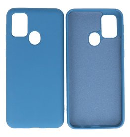 Fashion Color Backcover Hoesje Samsung Galaxy M21 / M21s Navy