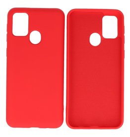 Fashion Color Backcover Hoesje Samsung Galaxy M21 / M21s Rood