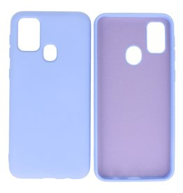 Fashion Color Backcover Hoesje Samsung Galaxy M21 / M21s Paars