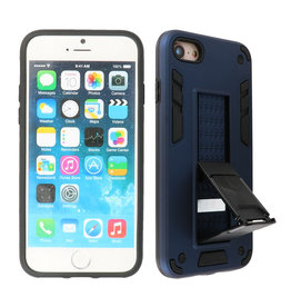 Stand Hardcase Backcover iPhone SE 2020 / 8 / 7 Navy