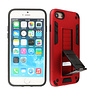 Stand Hardcase Backcover iPhone SE 2020 / 8 / 7 Rood
