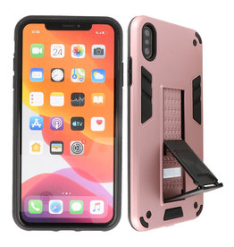 Stand Hardcase Backcover iPhone X / Xs Roze