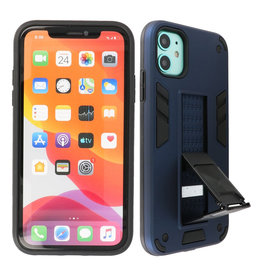 Stand Hardcase Backcover iPhone 12 Mini Navy