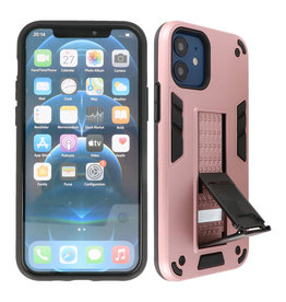 Stand Hardcase Backcover iPhone 12 Mini Roze