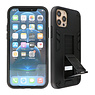 Stand Hardcase Backcover iPhone 12 Pro Max Zwart
