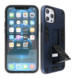 Stand Hardcase Backcover iPhone 12 Pro Max Navy