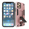 Stand Hardcase Backcover iPhone 12 Pro Max Roze