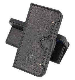 Luxe Portemonnee Hoesje Pasjeshouder Telefoonhoesje Samsung Galaxy A72 5G - Zwart
