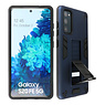 Stand Hardcase Backcover Samsung Galaxy S20 FE Navy