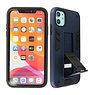 Stand Hardcase Backcover iPhone XR Navy