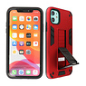 Stand Hardcase Backcover iPhone XR Rood