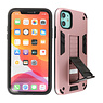 Stand Hardcase Backcover iPhone XR Roze