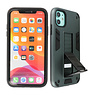 Stand Hardcase Backcover iPhone XR Donker Groen