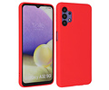 Samsung Galaxy A32 5G Hoesje Fashion Backcover Telefoonhoesje Rood