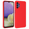 Fashion Color Backcover Hoesje Samsung Galaxy A32 5G Rood