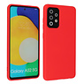 Fashion Color Backcover Hoesje Samsung Galaxy A52 5G Rood