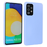 Fashion Color Backcover Hoesje Samsung Galaxy A52 5G Paars