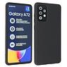 Samsung Galaxy A72 & Galaxy A72 5G Hoesje Fashion Backcover Telefoonhoesje Zwart