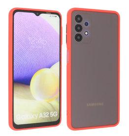 Samsung Galaxy A32 5G Hoesje Hard Case Backcover Telefoonhoesje Rood