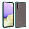 Samsung Galaxy A32 5G Hoesje Hard Case Backcover Telefoonhoesje Donker Groen