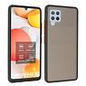 Samsung Galaxy A42 5G Hoesje Hard Case Backcover Telefoonhoesje Zwart
