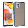 Samsung Galaxy A42 5G Hoesje Hard Case Backcover Telefoonhoesje Blauw