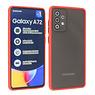 Samsung Galaxy A72 & Galaxy A72 5G Hoesje Hard Case Backcover Telefoonhoesje Rood
