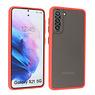 Samsung Galaxy S21 Hoesje Hard Case Backcover Telefoonhoesje Rood