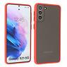 Samsung Galaxy S21 Plus Hoesje Hard Case Backcover Telefoonhoesje Rood