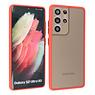 Samsung Galaxy S21 Ultra Hoesje Hard Case Backcover Telefoonhoesje Rood