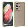 Samsung Galaxy S21 Ultra Hoesje Hard Case Backcover Telefoonhoesje Groen