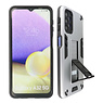 Stand Hardcase Backcover Samsung Galaxy A32 5G Zilver