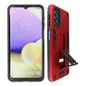 Stand Hardcase Backcover Samsung Galaxy A32 5G Rood