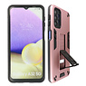 Stand Hardcase Backcover Samsung Galaxy A32 5G Roze