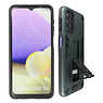 Stand Hardcase Backcover Samsung Galaxy A32 5G Donker Groen