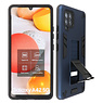 Stand Hardcase Backcover Samsung Galaxy A42 5G Navy