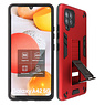 Stand Hardcase Backcover Samsung Galaxy A42 5G Rood