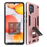Stand Hardcase Backcover Samsung Galaxy A42 5G Roze