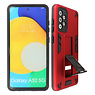 Stand Hardcase Backcover Samsung Galaxy A52 5G Rood