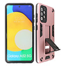 Stand Hardcase Backcover Samsung Galaxy A52 5G Roze