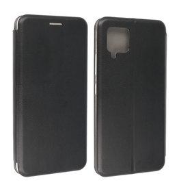 Slim Folio Book Case Samsung Galaxy A42 5G Zwart