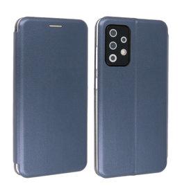 Slim Folio Book Case Samsung Galaxy A72 / 5G Navy
