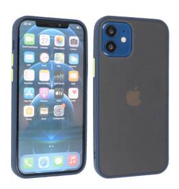 iPhone 12 Mini Hoesje Hard Case Backcover Telefoonhoesje Blauw
