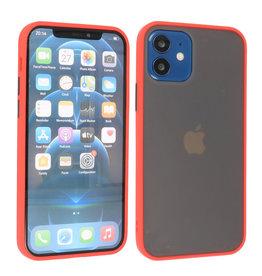 iPhone 12 Mini Hoesje Hard Case Backcover Telefoonhoesje Rood