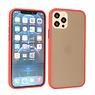 iPhone 12 & iPhone 12 Pro Hoesje Hard Case Backcover Telefoonhoesje Rood