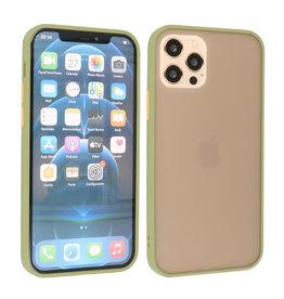 iPhone 12 & iPhone 12 Pro Hoesje Hard Case Backcover Telefoonhoesje Groen